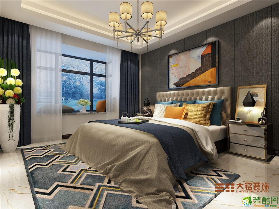 郑州三室一厅一卫装修―大铭装饰银基王朝120平现代风格作品