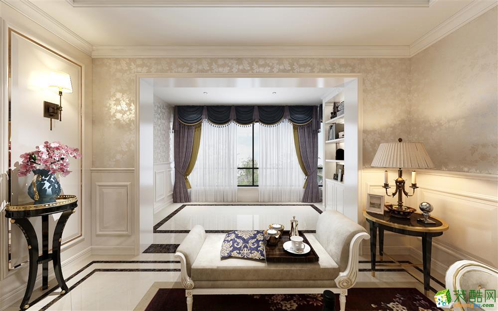 客厅  美的家装饰-海宇逸景苑
