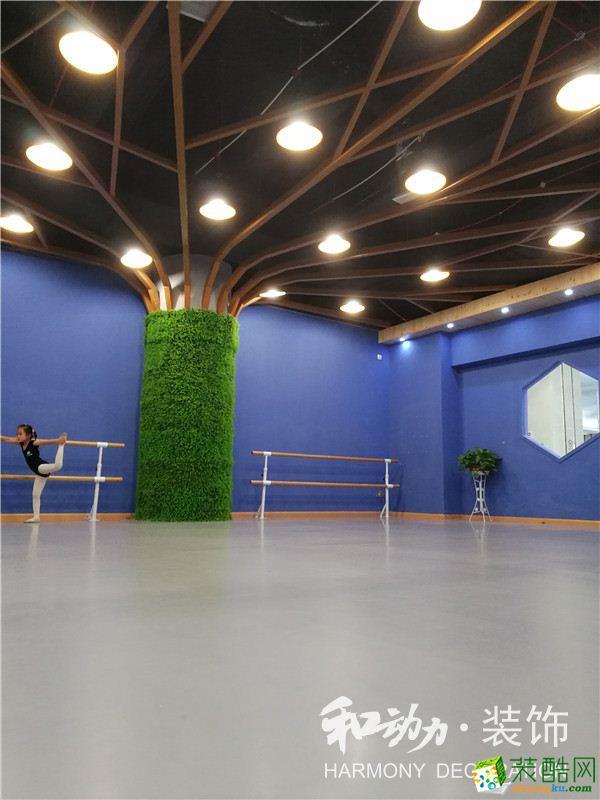 武漢舞蹈培訓學校裝修—漢口后湖大道萬家匯培訓中心設計效果圖