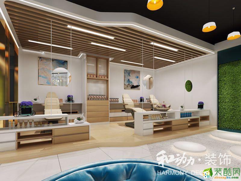 武汉美容院装修―1600平米美容院装修设计效果图