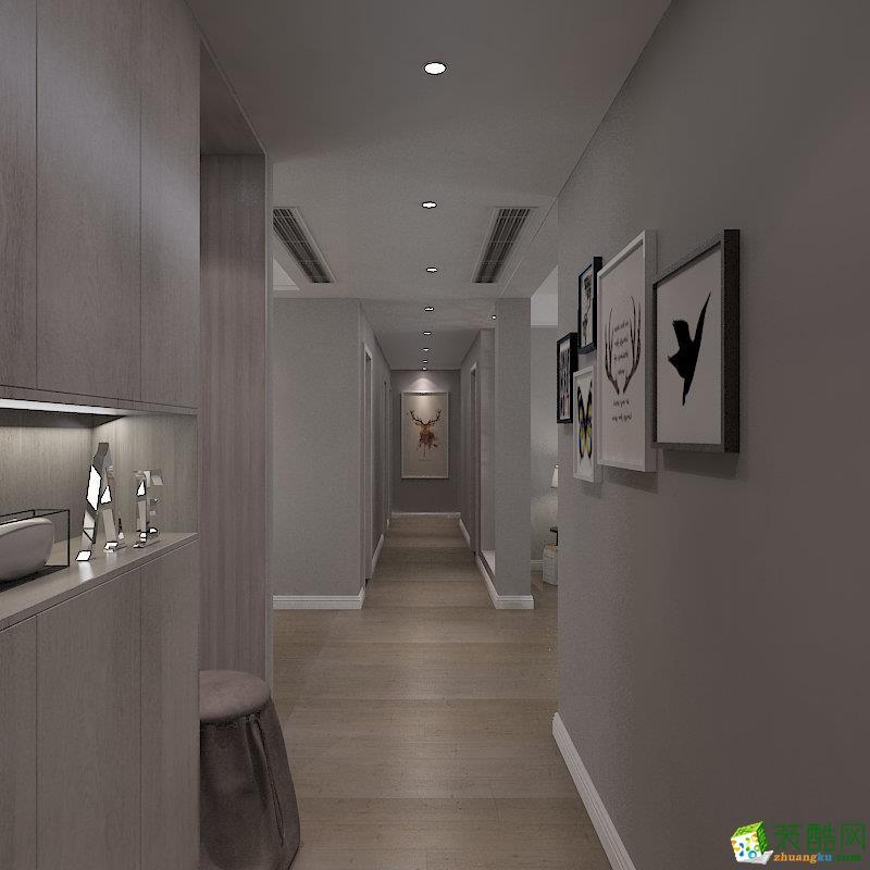 石家庄三室两厅一卫装修―福青宜园110平北欧风格装修效果图