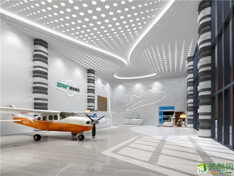 武汉博物馆装修—卓尔航空博物馆装修设计效果图