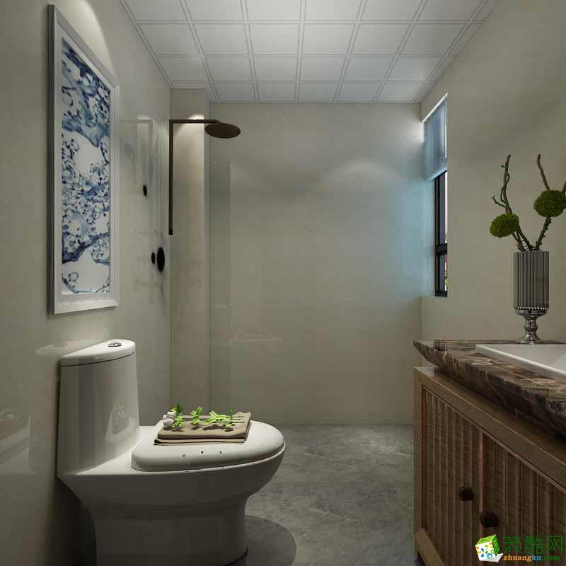 石家庄四室两厅两卫装修―汇景国际180平新中式风格装修效果图