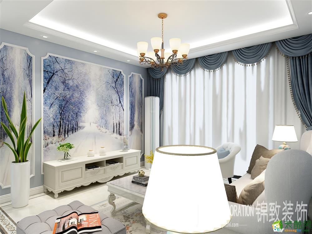 合肥106�O三室两厅一卫装修―大众时代之光欧式风格装修效果图
