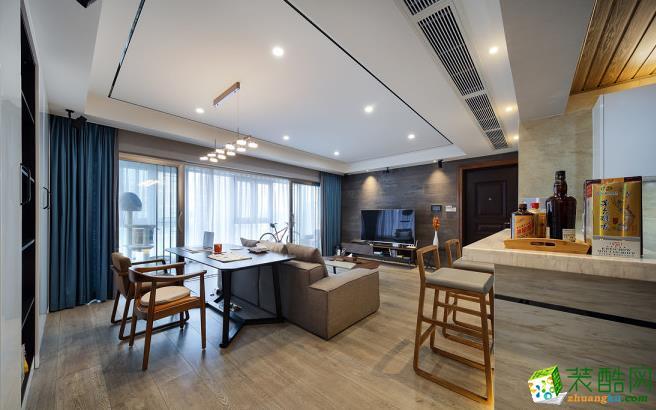 昆明180平米四室装修―保利大家现代风格效果图