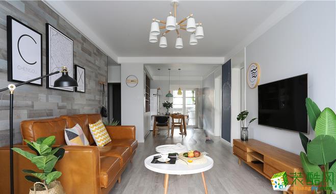 昆明100平米三居室裝修—廣源小區 北歐風格效果圖