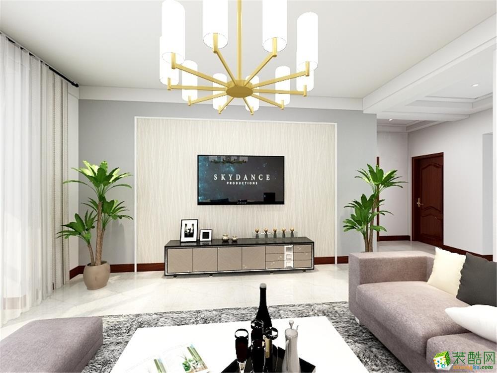 天津93平米两室两厅装修―【力天装饰】朝阳小区简约风格作品