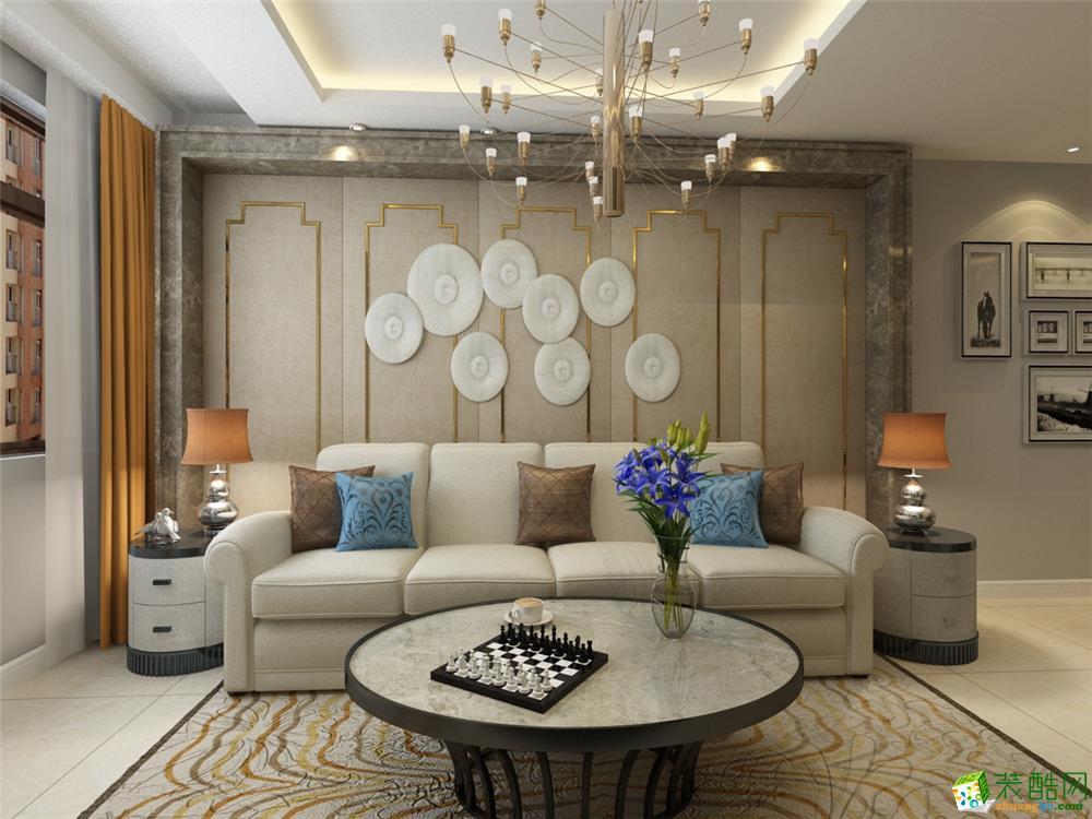 天津90平米两室一厅装修―【力天装饰】格调绮园现代风格作品