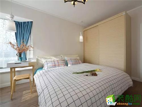 武汉86�O三室一厅一卫装修―金融街壹号美式风格装修效果图