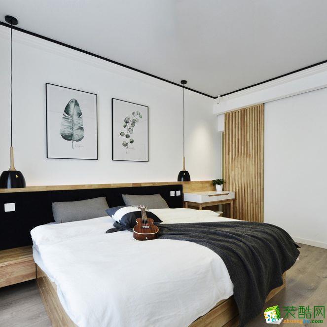>> 乌鲁木齐三室两厅装修-120平米简约风格装修效果图-柏晟装饰