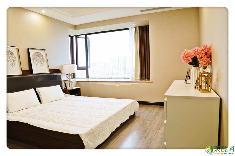 重庆四室两厅装修-龙湖江与城原山时光120平米现代风格装修效果图赏析-兄弟装饰