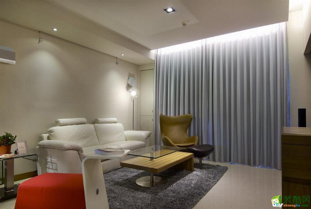 重庆三室两厅装修-130平米现代简约风格装修效果图-维享家装饰
