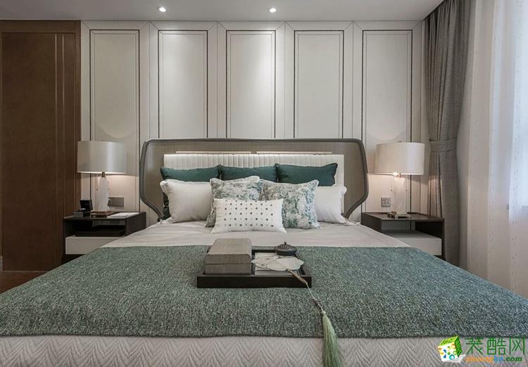 石家庄三室两厅两卫装修―碧桂园180中式风格装饰效果图
