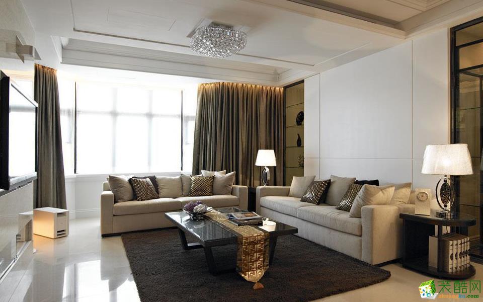 重庆三室一厅装修-98平米现代简约风格装修效果图-维享家装饰