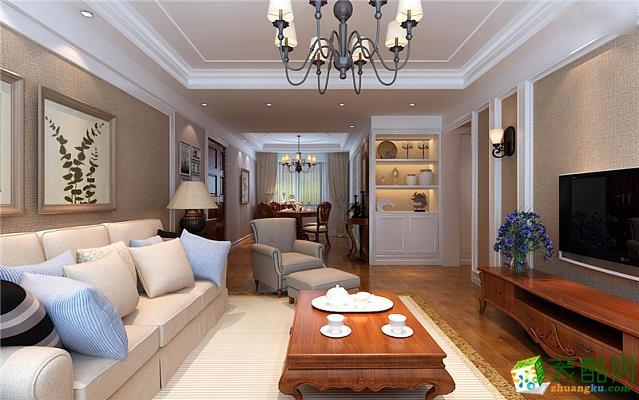 合肥四室两厅装修【九点装饰】中铁和畅园122平现代风格作品
