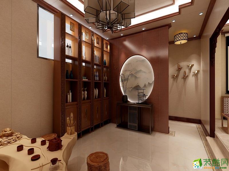 中式风格工装展示
