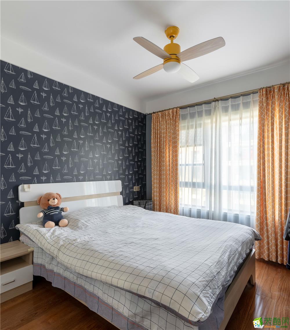 郑州两室两厅两卫装修―华埔装饰和昌湾景国际100平混搭风格装修效果图