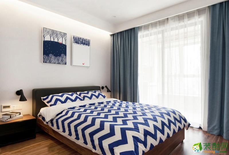重庆三室两厅装修-121平米北欧风格装修效果图赏析-道坤装饰