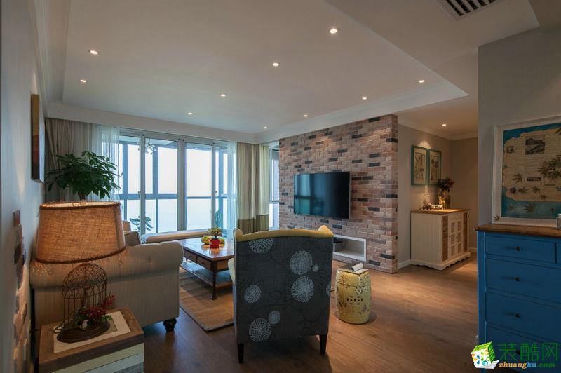 重庆三室两厅装修-85平米北欧风格装修效果图赏析-居联峰尚装饰