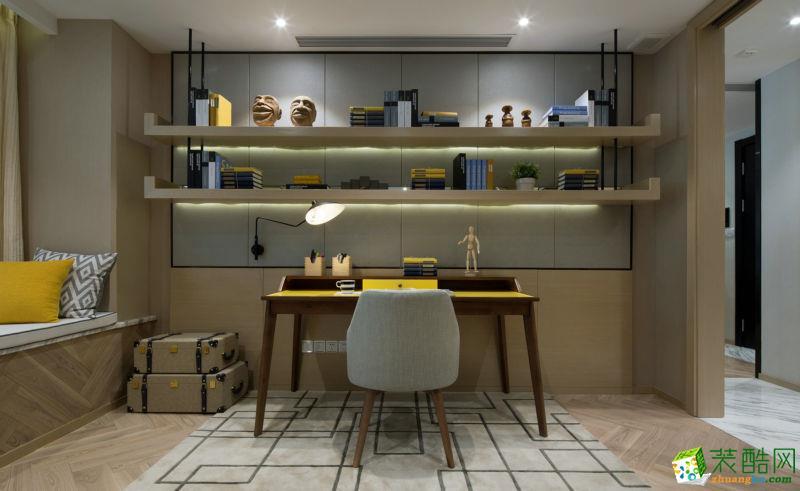 重庆三室两厅装修-北欧风格112平米装修效果图赏析-铭坊易家装饰