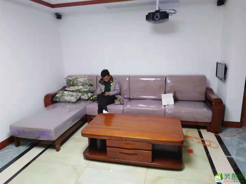 西安金地湖城大境165平米實木家具