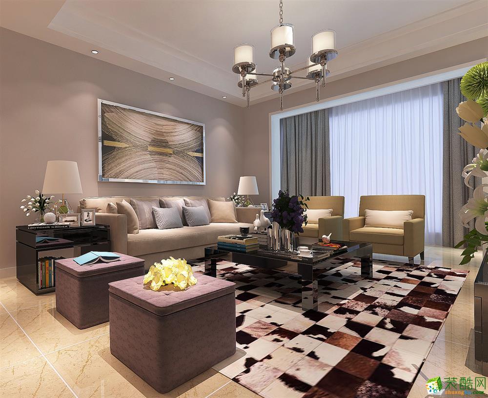贵阳大上海三室两厅82平米9.5万效果图