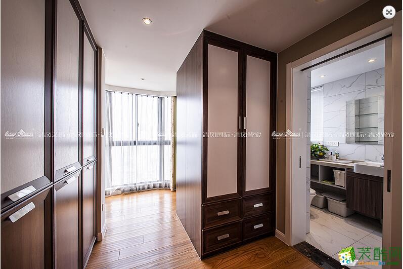 地板  苏州3室2厅2卫装修―清风装饰中航樾玺140�O简约作品
