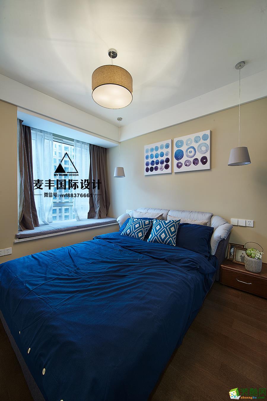 卧室  杭州150㎡4室2厅装修—麦丰设计—康城国际简约风格装修作品