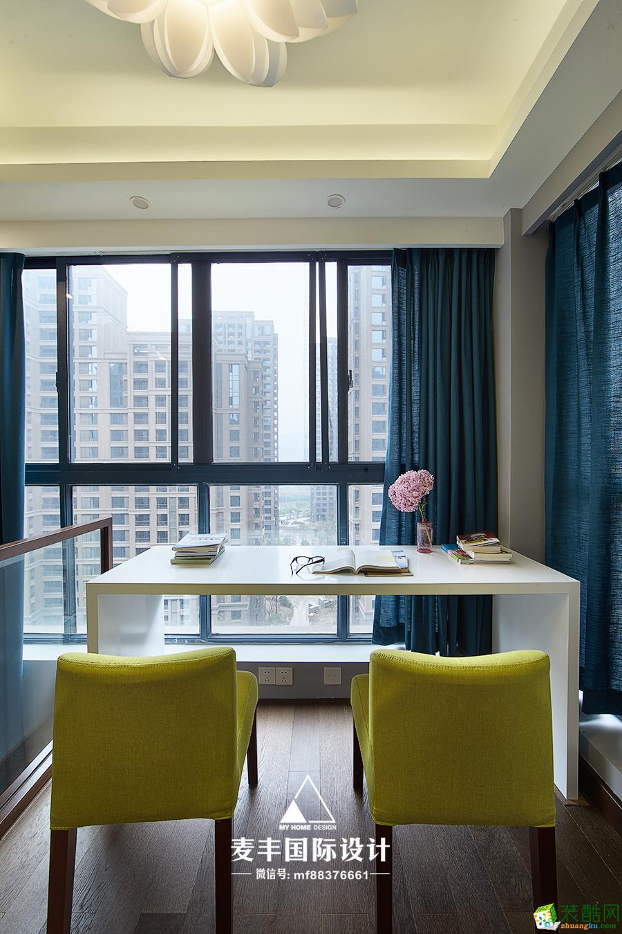 餐厅  杭州150㎡4室2厅装修—麦丰设计—康城国际简约风格装修作品