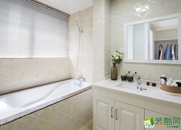 济南安家乐装饰-120平米欧式三居室装修案例