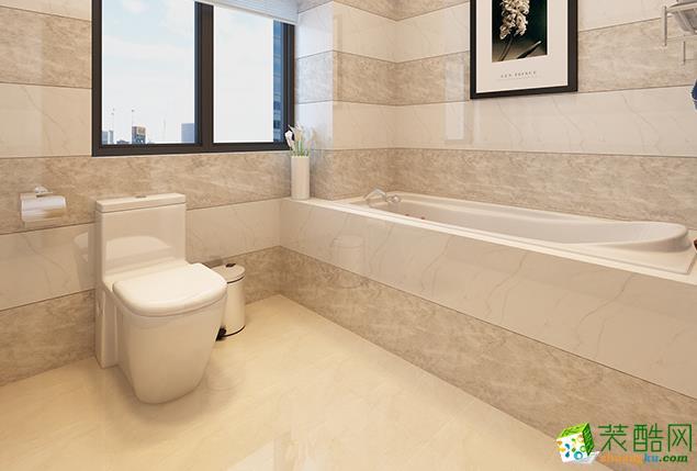 济南安家乐装饰-125平米中式三居室装修案例