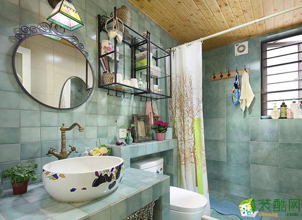 济南安家乐装饰-110平米简约三居室装修案例