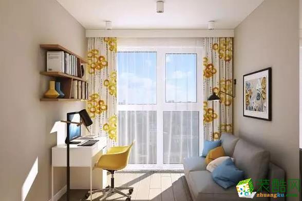 济南威廉装饰-75平米北欧两居室装修案例