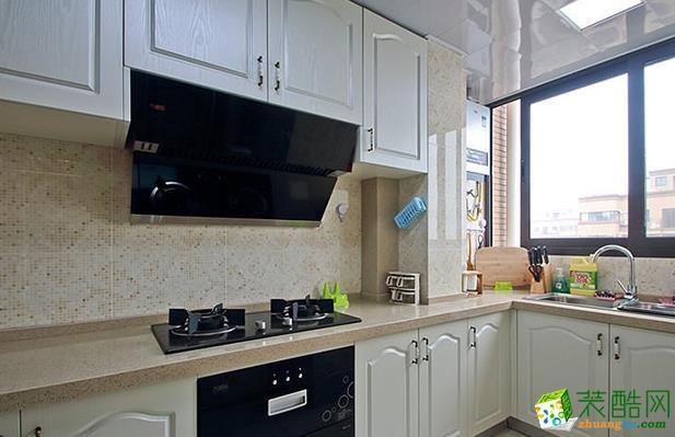 济南威廉装饰-125平米欧式三居室装修案例