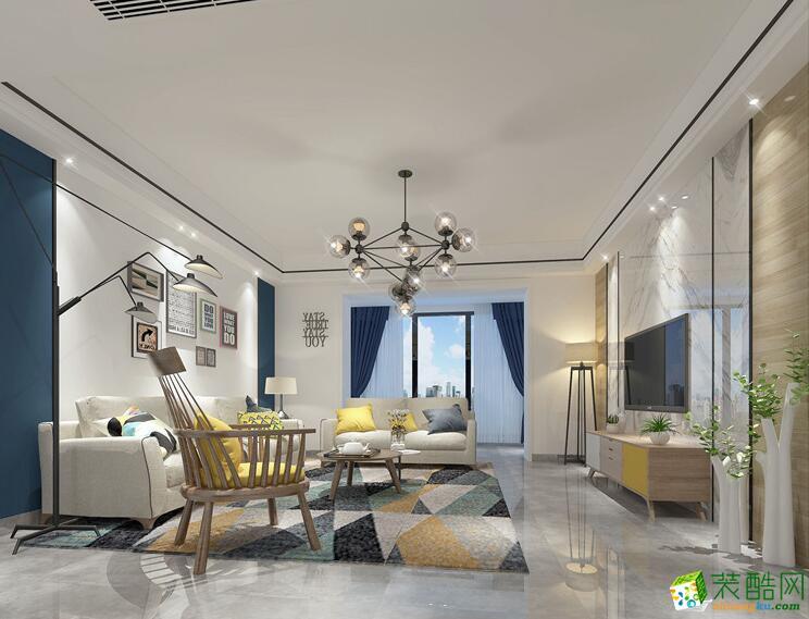 下一套案例  空间类型:简约风格 两室两厅两卫 房屋面积:85㎡ 装修