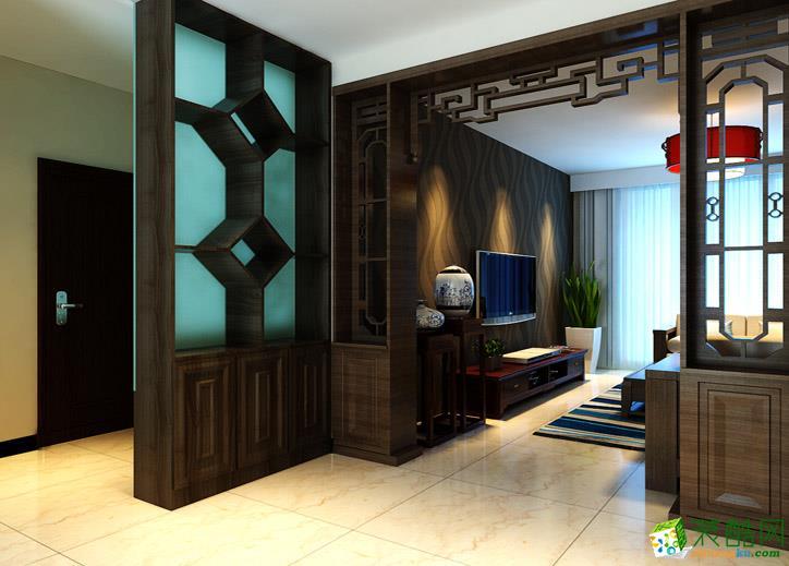 121平米三居室新古典风格装修效果图