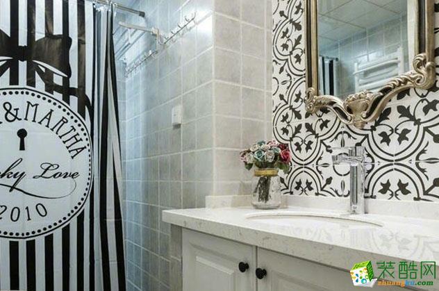 济南雅润装饰-96平米简美两居室装修案例
