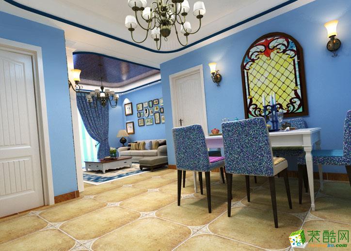 70平二居室地中海风格装修效果图