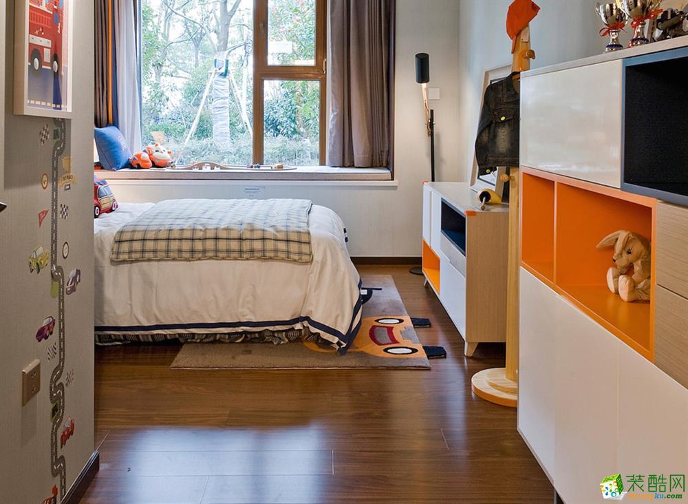 成都四室两厅装修- 新绿季节 200平四居室欧式风格装修效果图赏析-众意装饰