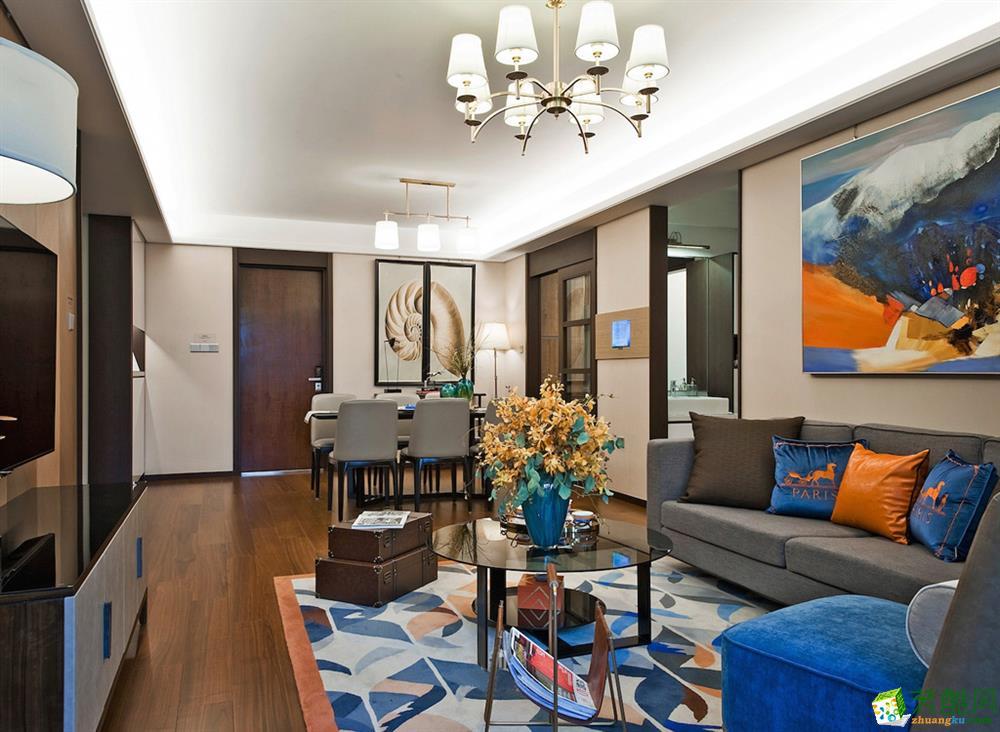 成都四室两厅装修- 新绿季节 200平四居室欧式风格装修效果图-众意装饰