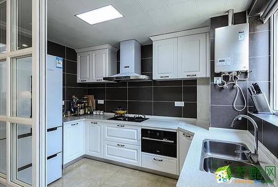 济南国宸装饰-119平米现代三居室装修案例