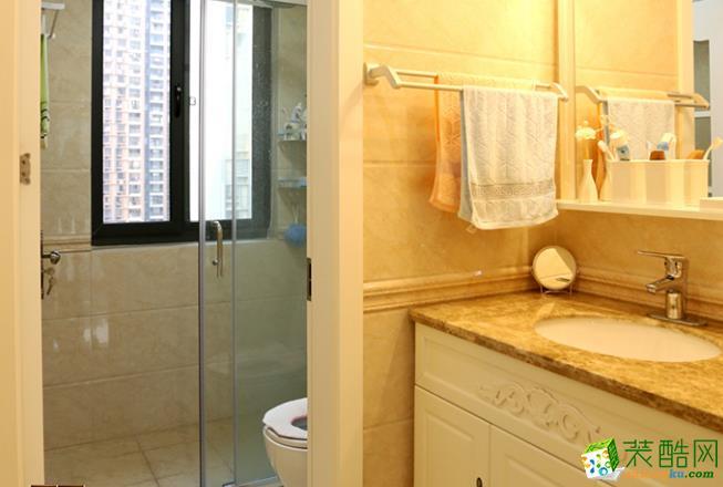 济南国宸装饰-95平米古典两居室装修案例