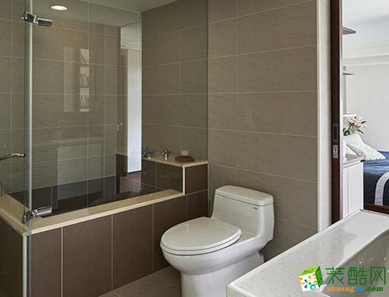 济南国宸装饰-124平米现代简约三居室装修案例