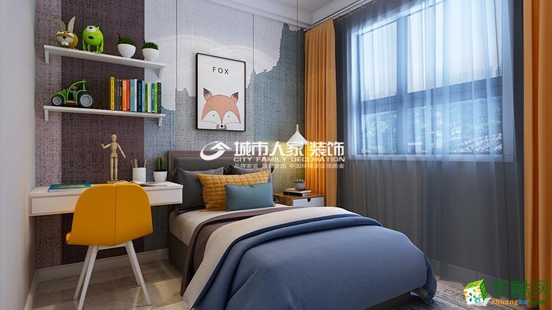 太原山投城尚城106平米样板间装修设计图如此现代风格太惊艳!