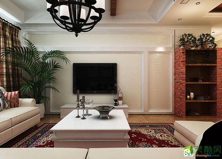 110平米三居室欧式风格装修