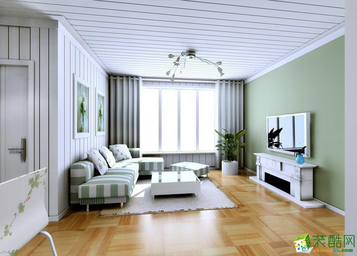 70平北欧风格二居室装修效果图