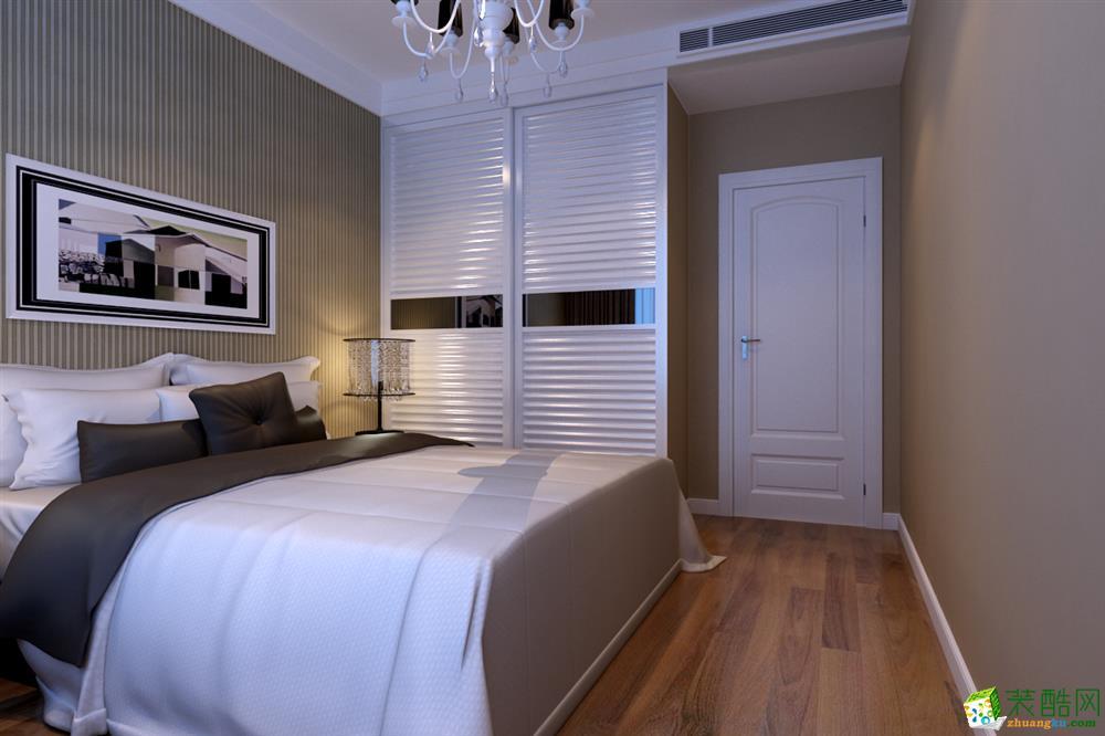 100平米三居室新中式风格装修效果图