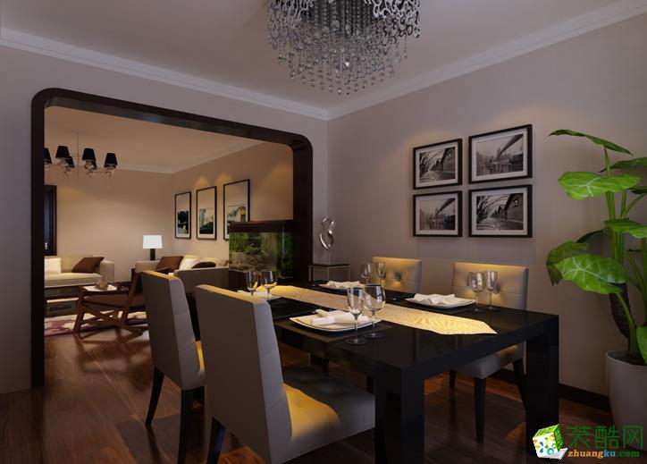 89平米两室一厅一卫现代风格装修效果图