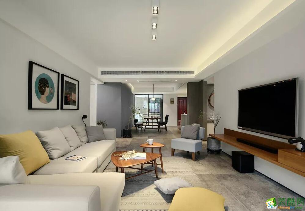 >> 石家庄四室两厅两卫装修—捷登装饰160平现代简约风格装修效果图