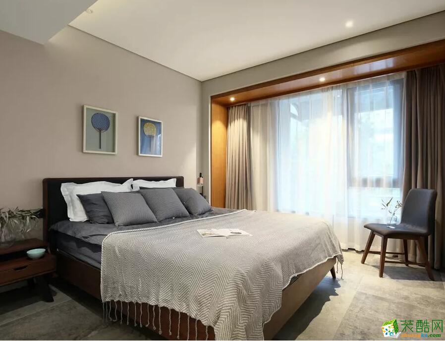 石家庄四室两厅两卫装修―捷登装饰160平简约风格装修效果图